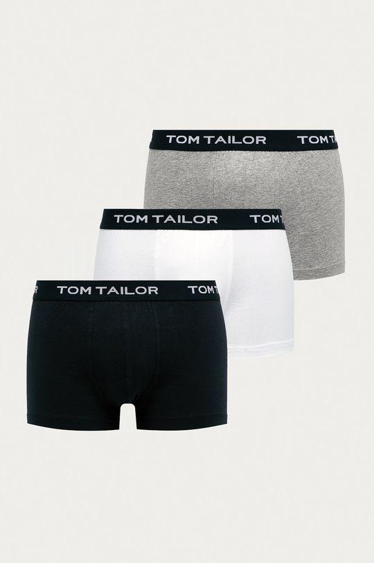 sivá Tom Tailor Denim - Boxerky (3-pak) Pánsky