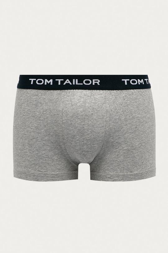 sivá Tom Tailor Denim - Boxerky (3-pak)