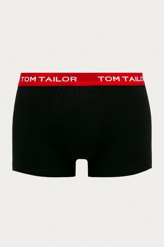 Tom Tailor Denim - Boxerky (3-pak) čierna