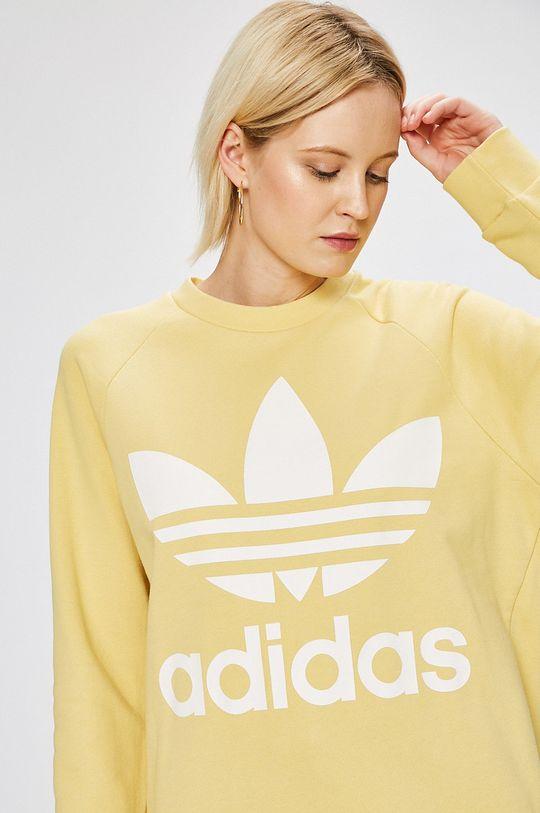 жълт adidas Originals - Суичър