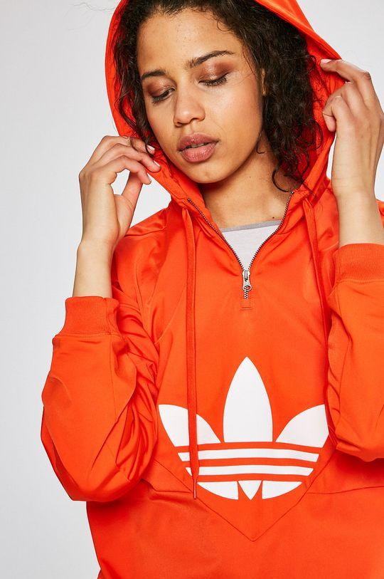 червен adidas Originals - Суичър