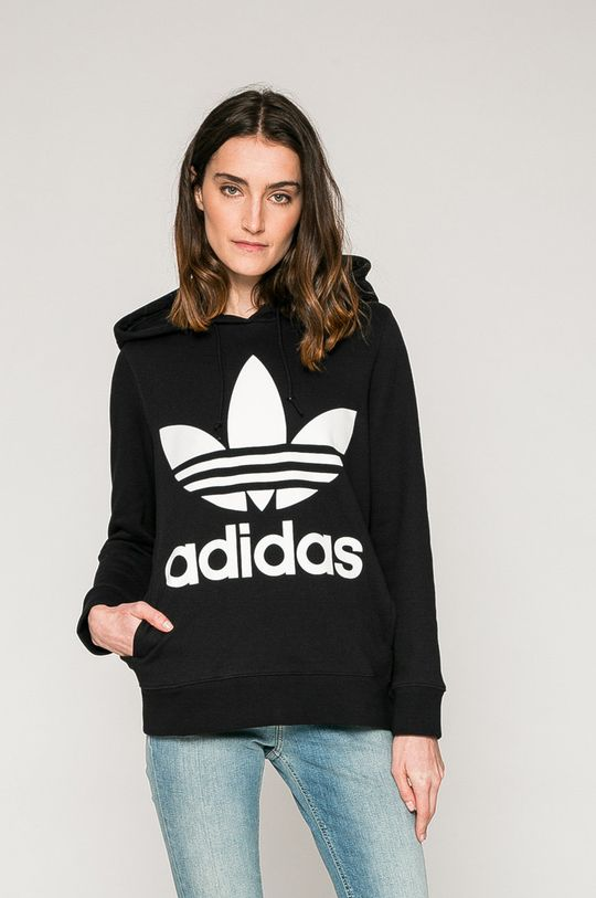 черен adidas Originals - Суичър Жіночий