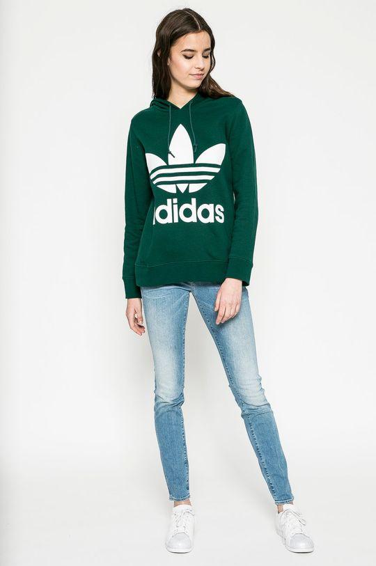 adidas Originals - Суичър зелен