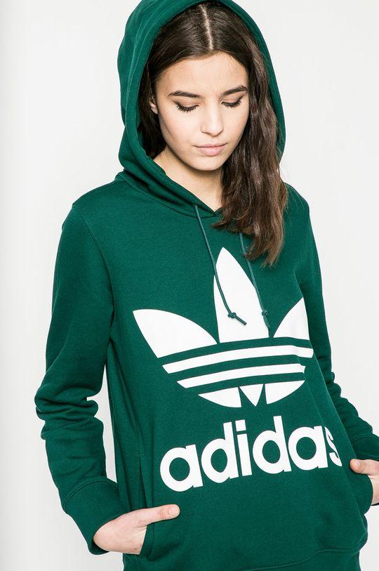 зелен adidas Originals - Суичър