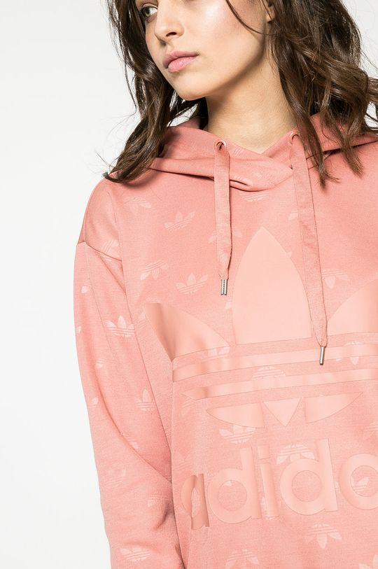 ružová adidas Originals - Mikina