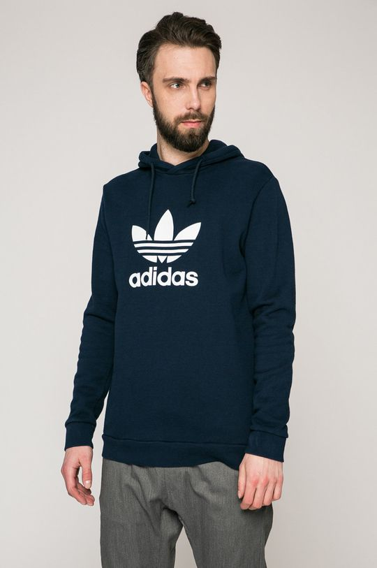 тъмносин adidas Originals - Суичър Чоловічий