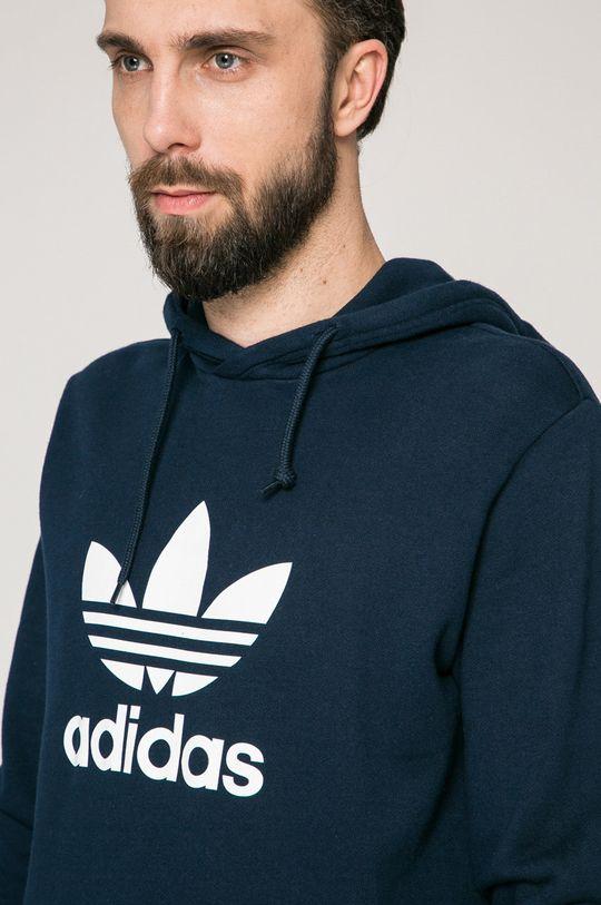 тъмносин adidas Originals - Суичър