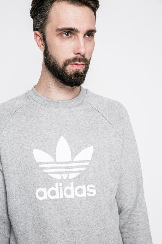 сив adidas Originals - Суичър