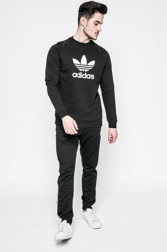 adidas Originals - Mikina Trefoil Crew černá