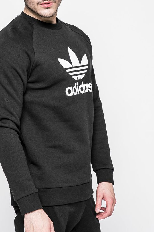 adidas Originals - Mikina Trefoil Crew Hlavní materiál: 100% Bavlna Jiné materiály: 95% Bavlna, 5% Elastan