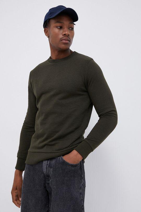 ciemny zielony Produkt by Jack & Jones - Bluza Męski