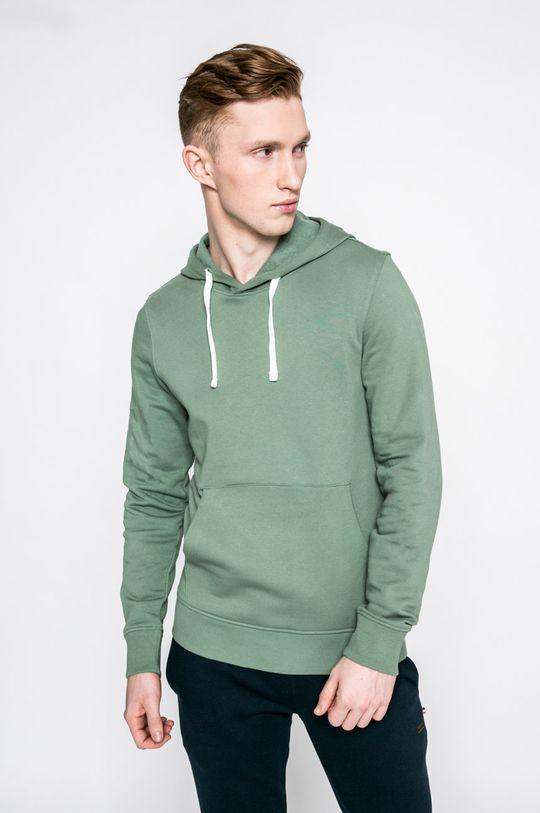světle zelená Produkt by Jack & Jones - Mikina Pánský