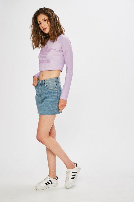adidas Originals - Блуза лавандула