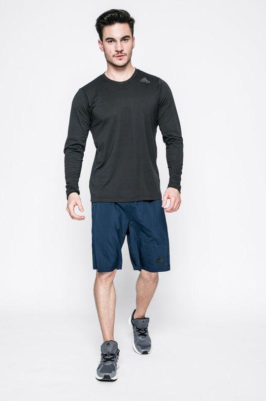 adidas Performance - Pánske tričko s dlhým rukávom čierna