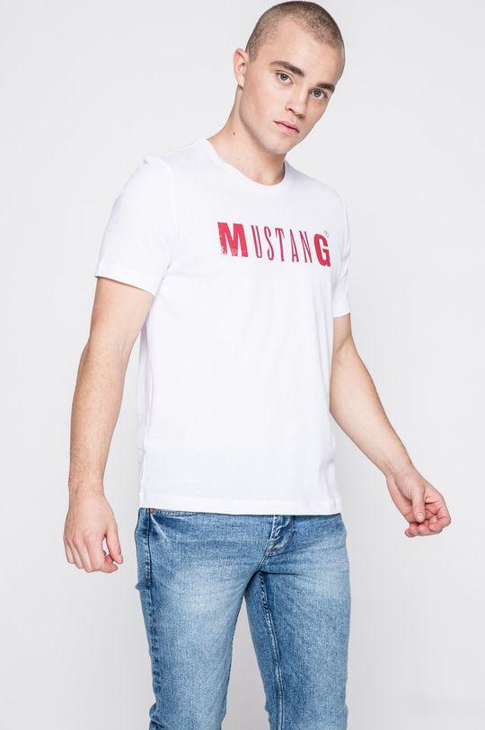 alb Mustang - Tricou De bărbați