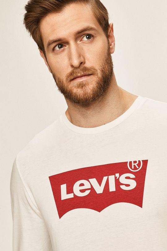 bílá Levi's - Tričko s dlouhým rukávem