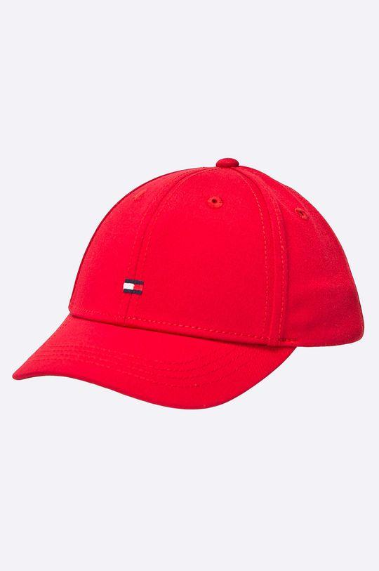 červená Tommy Hilfiger - Detská čiapka Detský