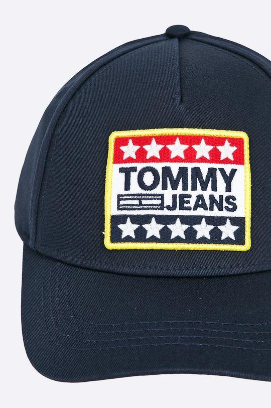 Tommy Jeans - Čiapka tmavomodrá