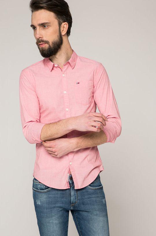 рожевий Tommy Jeans - Сорочка Чоловічий