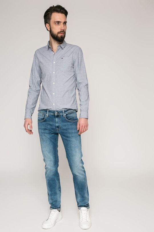 Tommy Jeans - Сорочка темно-синій