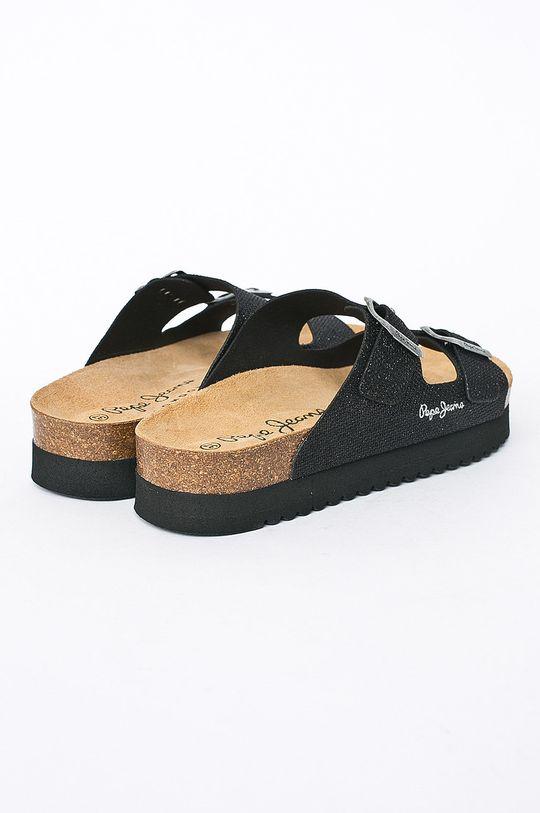 černá Pepe Jeans - Pantofle