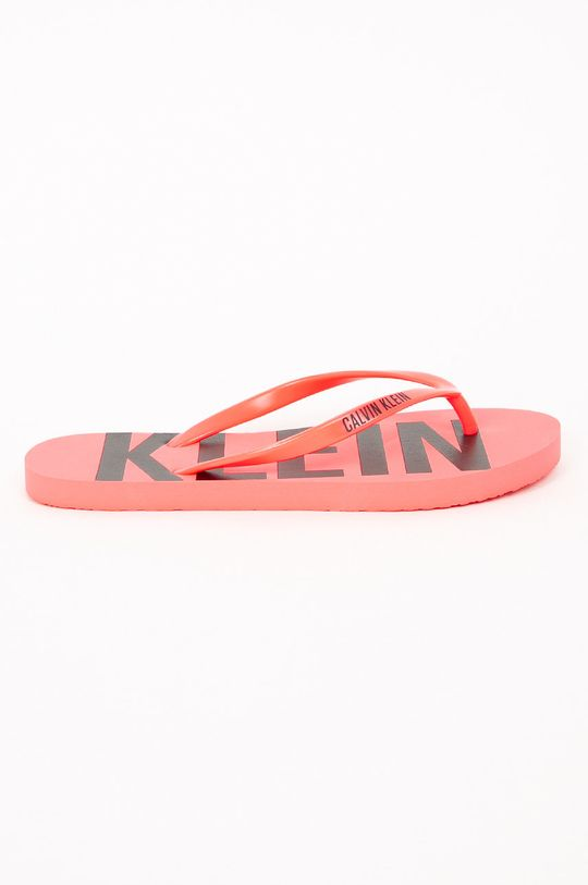 fuchsiová Calvin Klein Jeans - Žabky Dámský