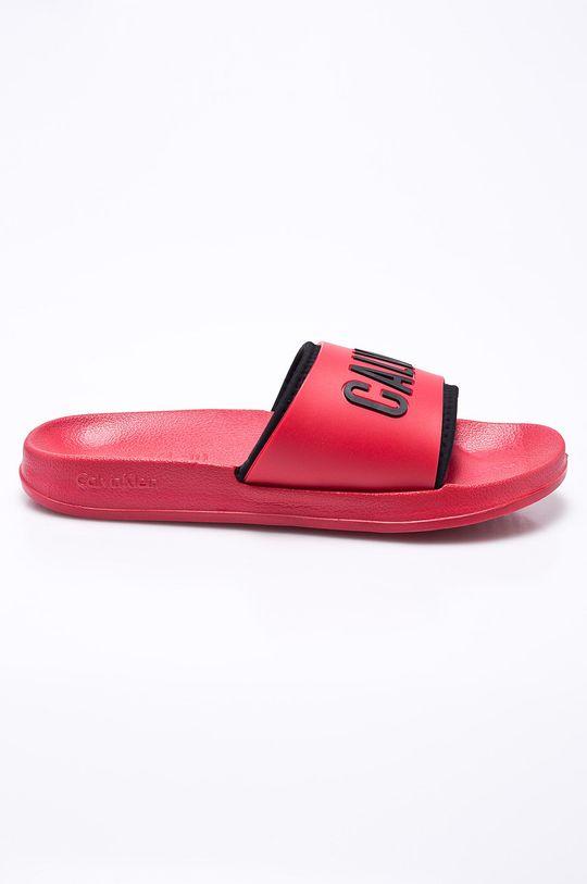 červená Calvin Klein Jeans - Pantofle Dámský