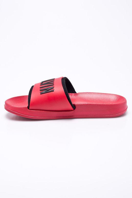 Calvin Klein Jeans - Pantofle  Svršek: Umělá hmota Vnitřek: Textilní materiál Podrážka: Umělá hmota