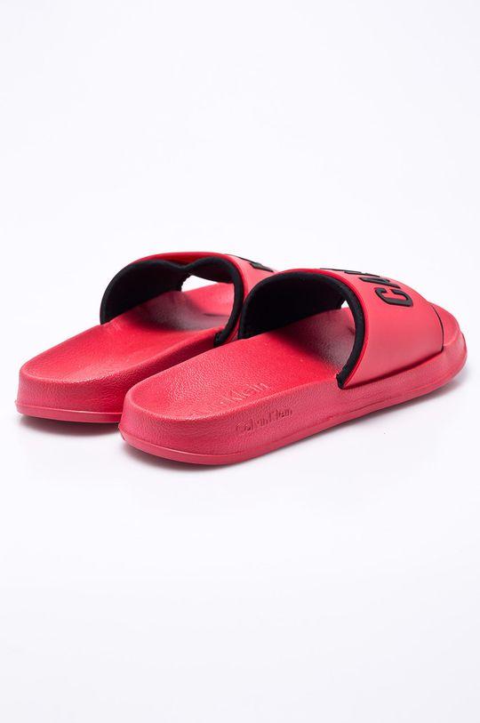 červená Calvin Klein Jeans - Pantofle
