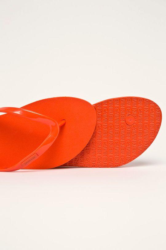 Calvin Klein Jeans - žabky Umělá hmota