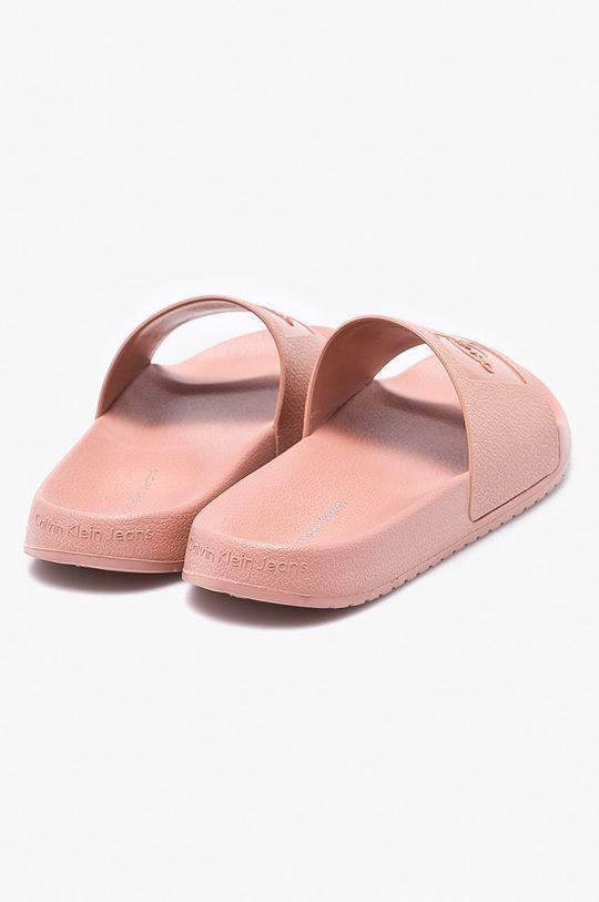 pastelová Calvin Klein Jeans - Pantofle