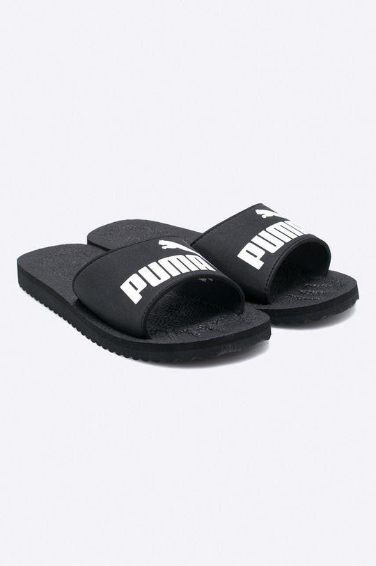 Puma - Pantofle Purecat černá