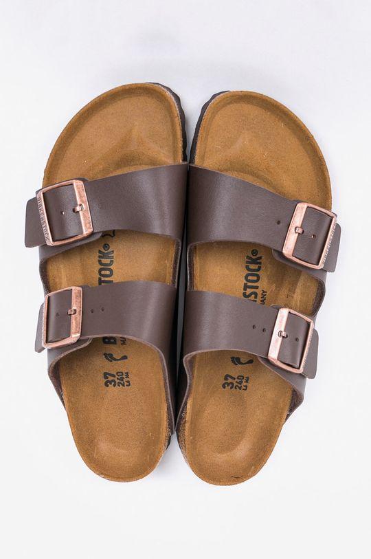 Birkenstock - Pantofle Arizona tmavě hnědá