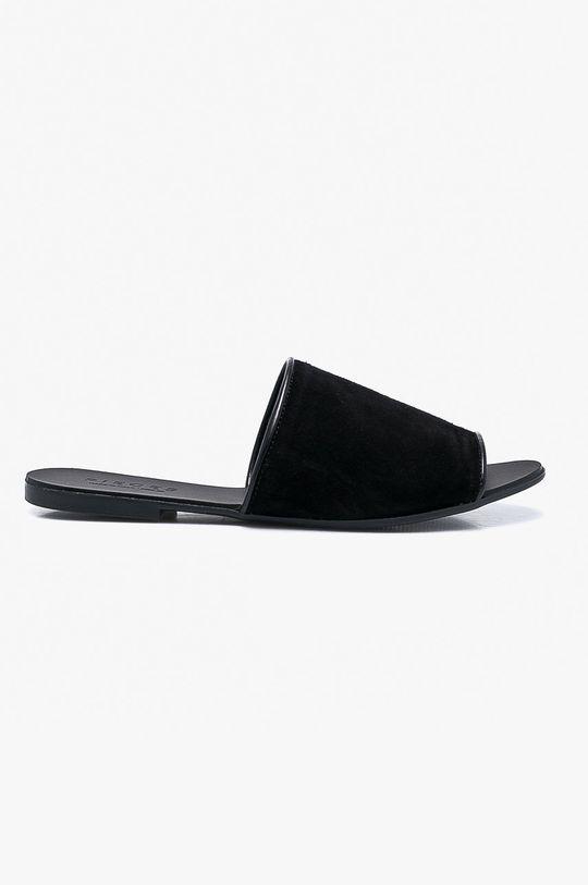černá Pieces - Pantofle Dámský