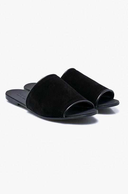Pieces - Pantofle černá