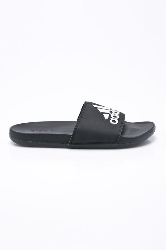 czarny adidas - Klapki Adilette Cf+ Logo Męski
