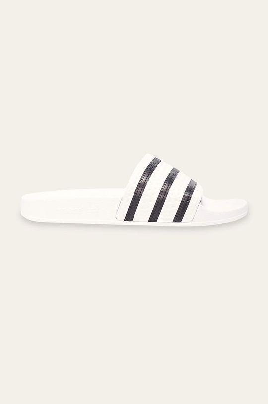 biela adidas Originals - Šľapky Adilette Pánsky