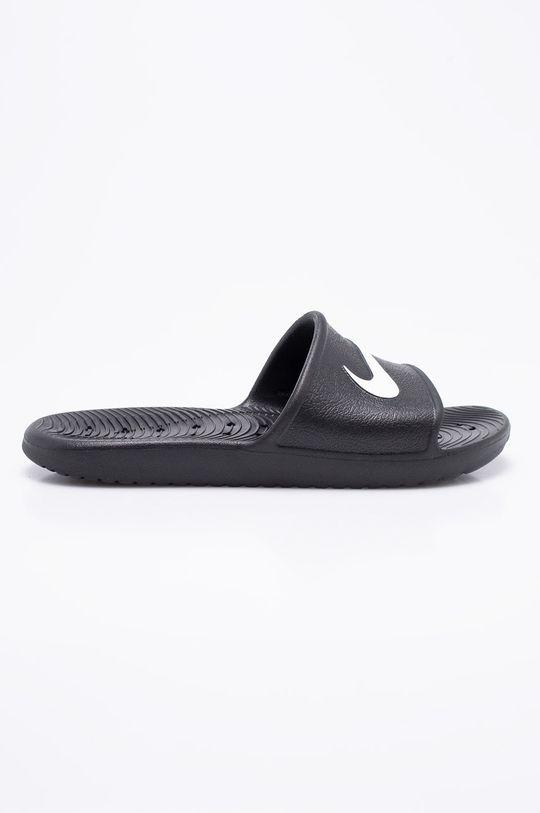 negru Nike - Papuci De bărbați