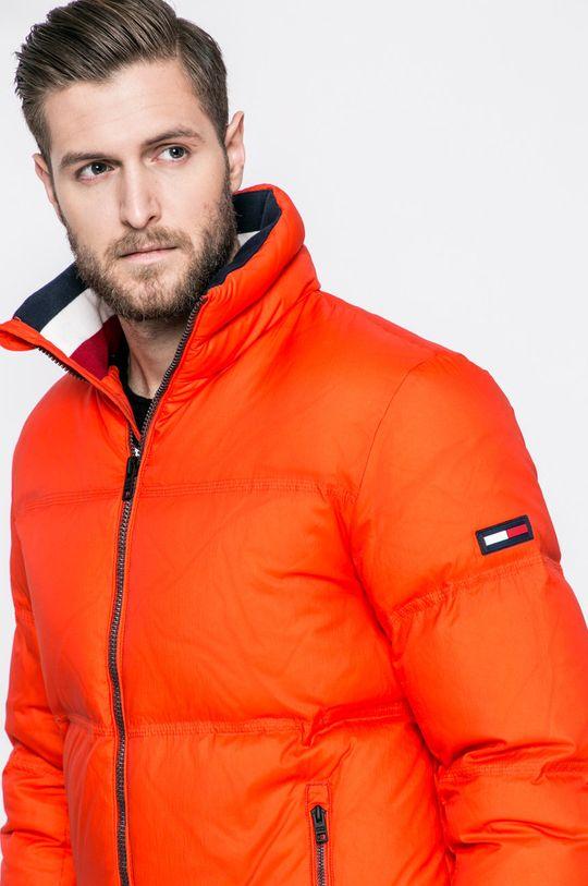 оранжев Tommy Jeans - Пухено яке