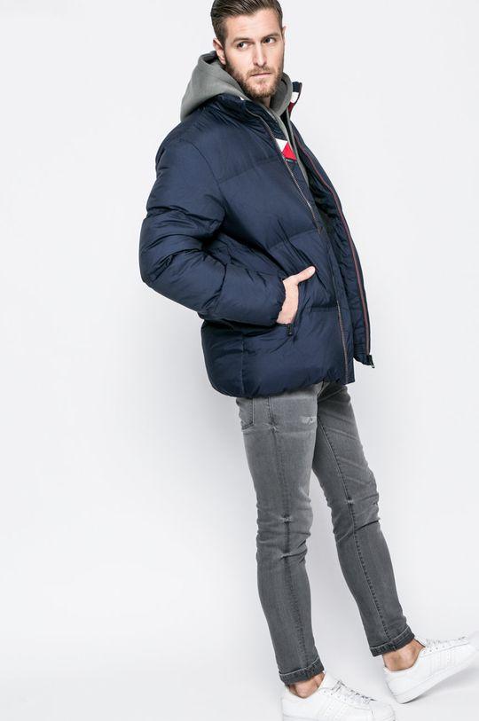 тъмносин Tommy Jeans - Пухено яке Чоловічий
