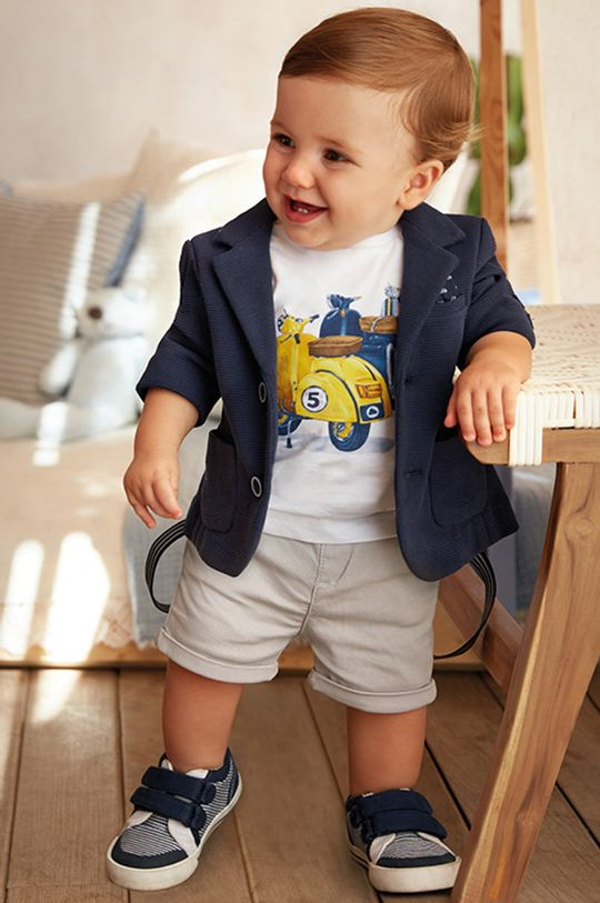 Mayoral - Сако за деца 68-98 cm тъмносин