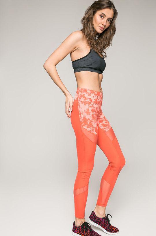 adidas Performance - Legging koral színű