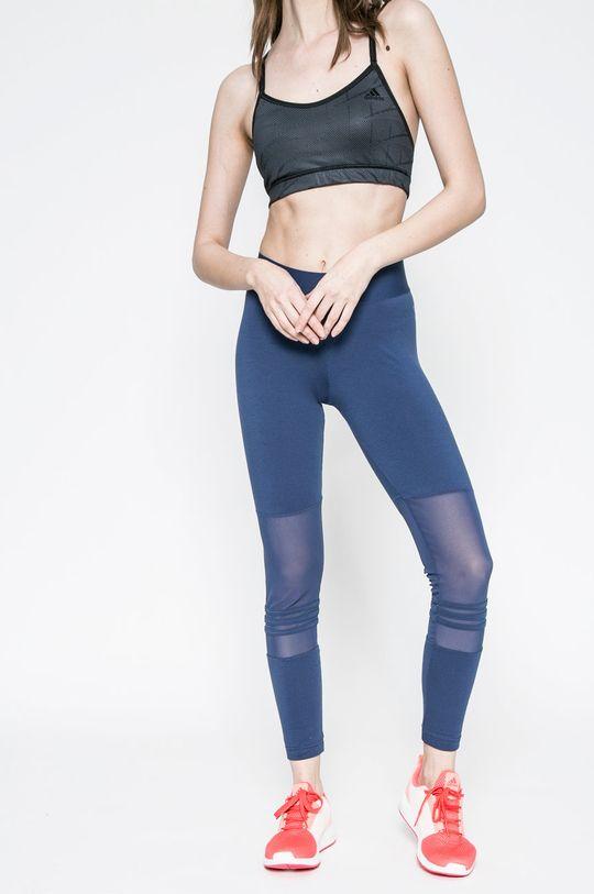 tmavomodrá adidas Performance - Legíny Dámsky