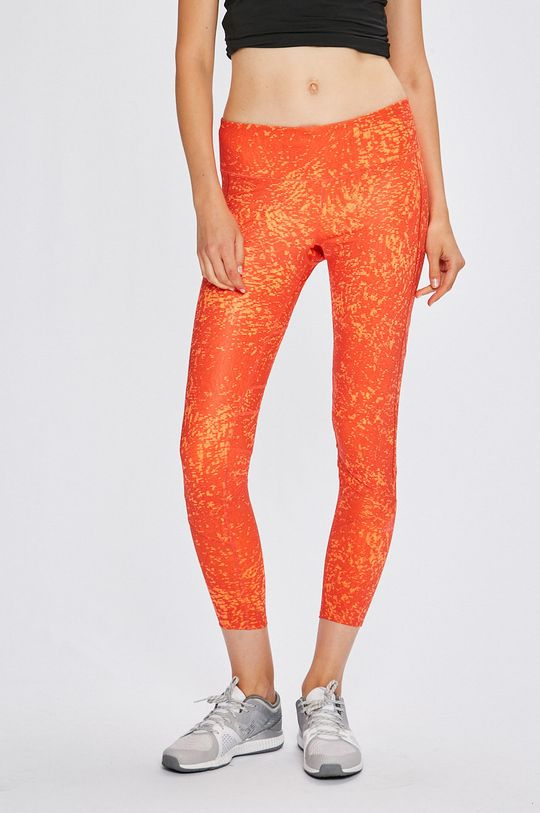 oranžová adidas Performance - Legíny Dámsky
