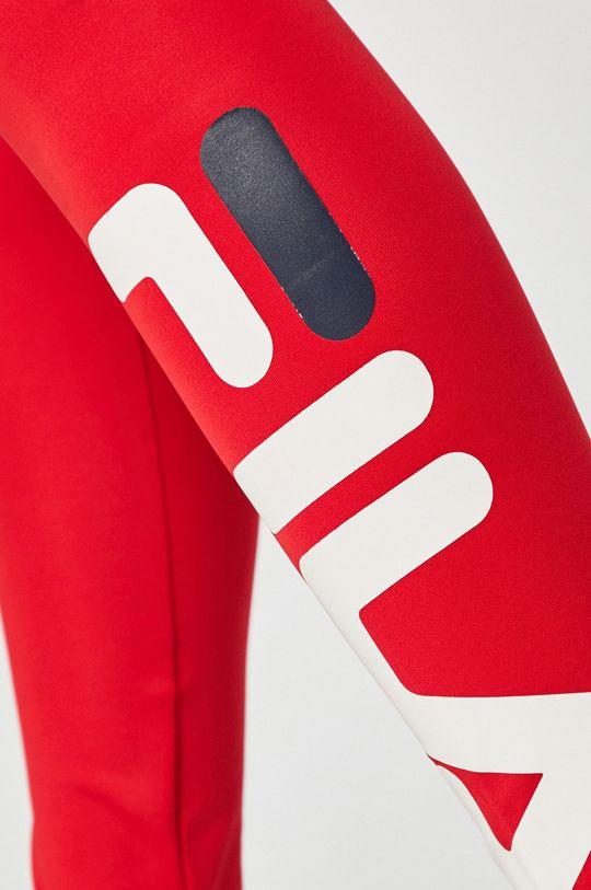 czerwony Fila - Legginsy