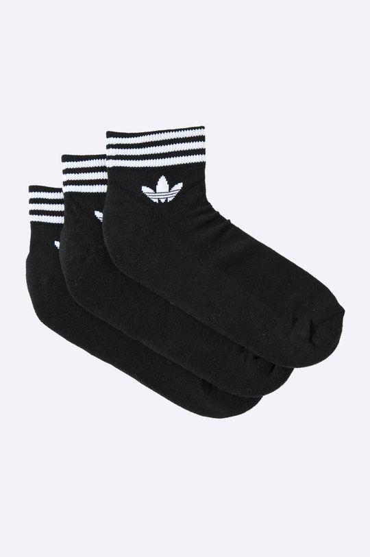 čierna adidas Originals - Ponožky (3-pak) Pánsky