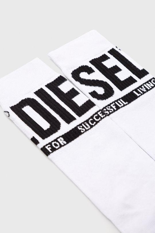 Diesel - Ponožky biela