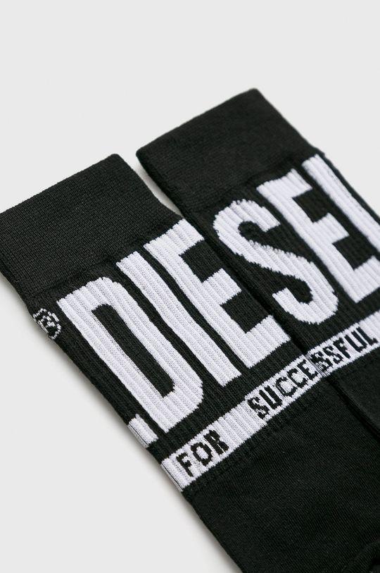 Diesel - Ponožky (3-pak) čierna