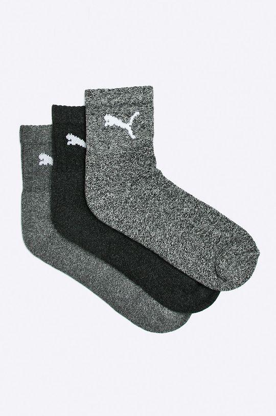 sivá Puma - Ponožky (3-pak) Pánsky