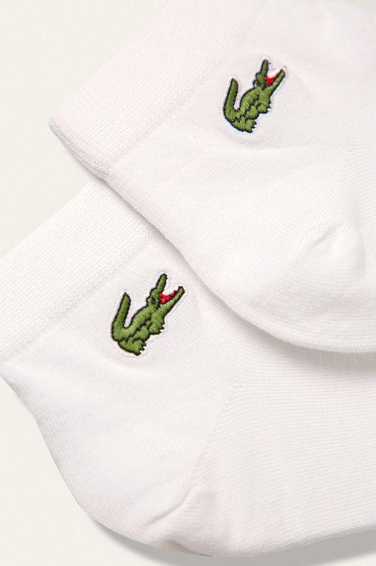 Lacoste - Ponožky (2-pak) biela